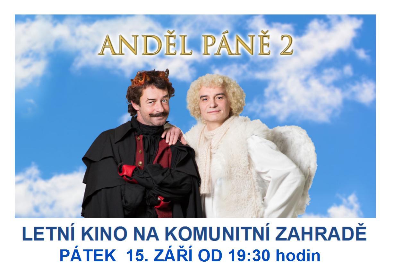 Letní kino - Anděl páně 2