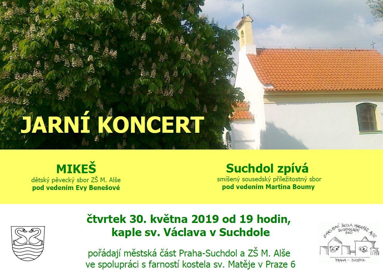 Jarní koncert v kapli sv. Václava, 30.5.2019