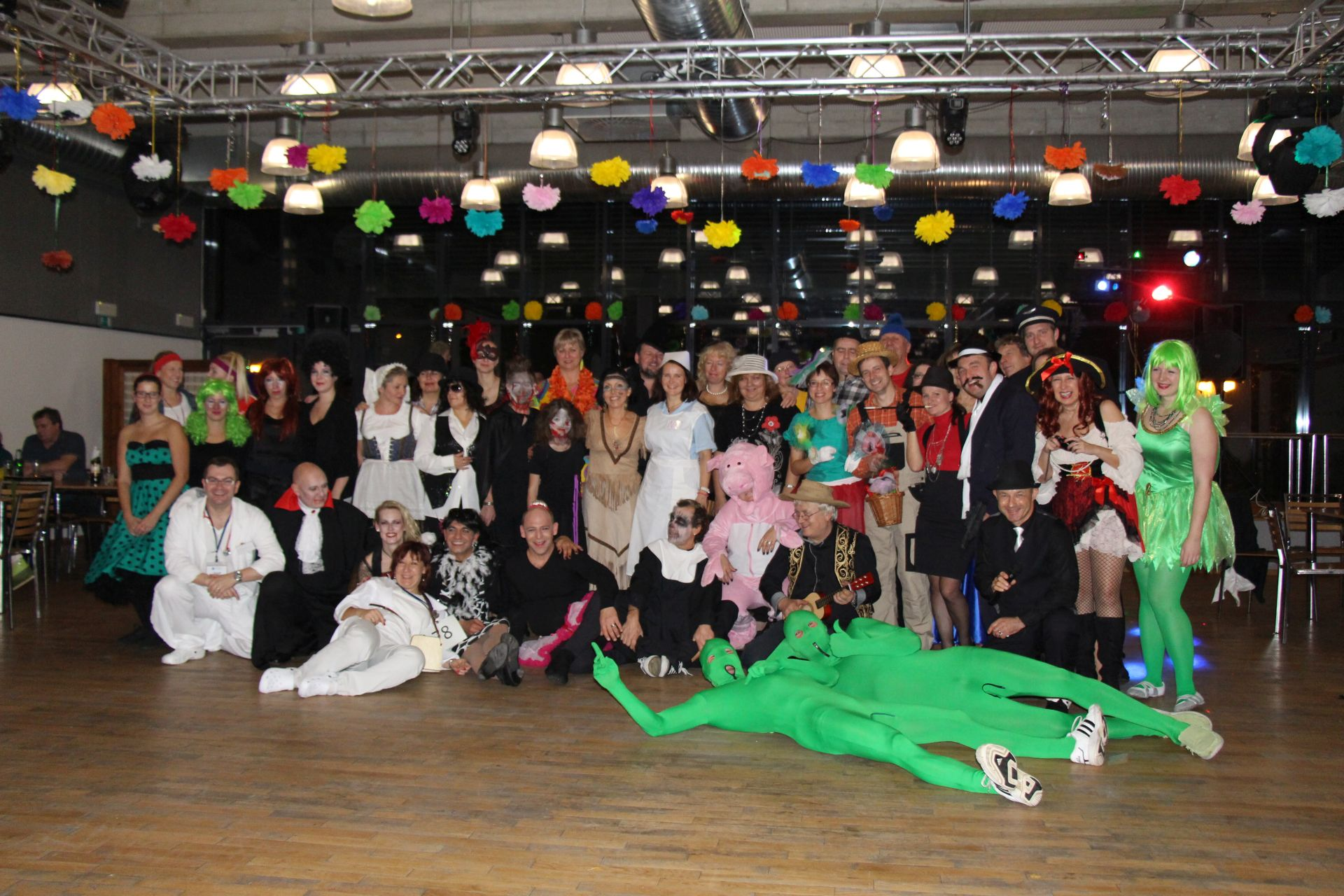 3. Taneční zábava v maskách i bez, sobota 19.11.2016