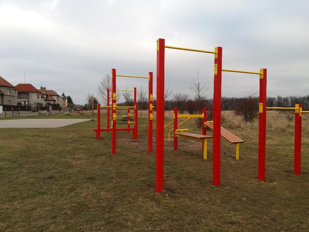Fit-park hřiště Na Rybářce - realizace 2017-2018