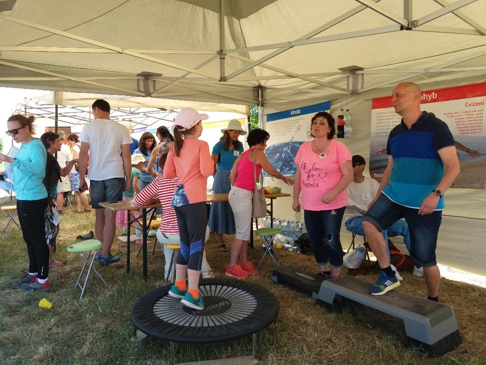 Den sportu a zdraví - hřiště Na Rybářce 13.5.2018