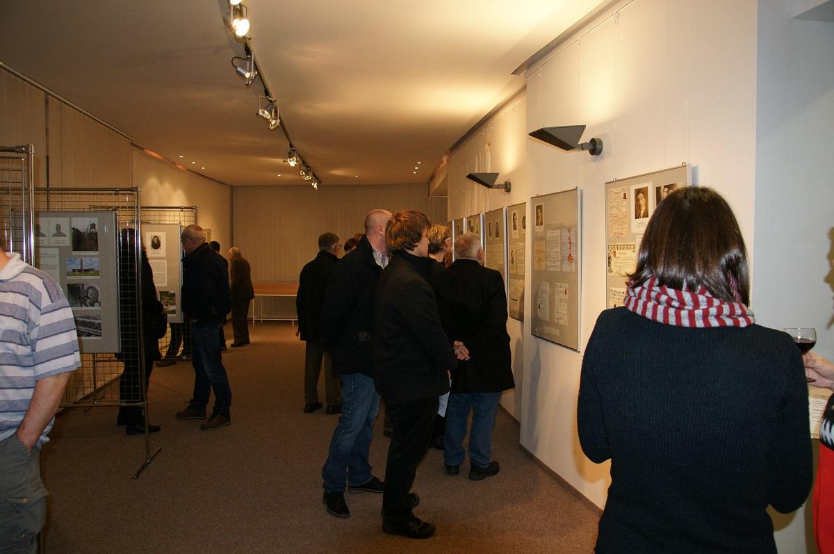 Vernisáž výstavy Jména na pomníku 29.1.2017