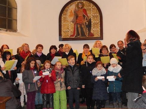 Adventní koncert v kapli sv. Václava, 10.12.2015