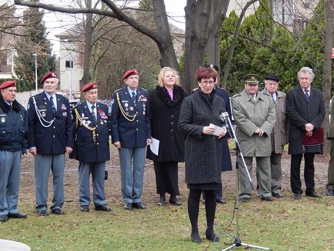 Pietní akt R. Pernický, 70. výročí operace Tungsten, 19.12.2014