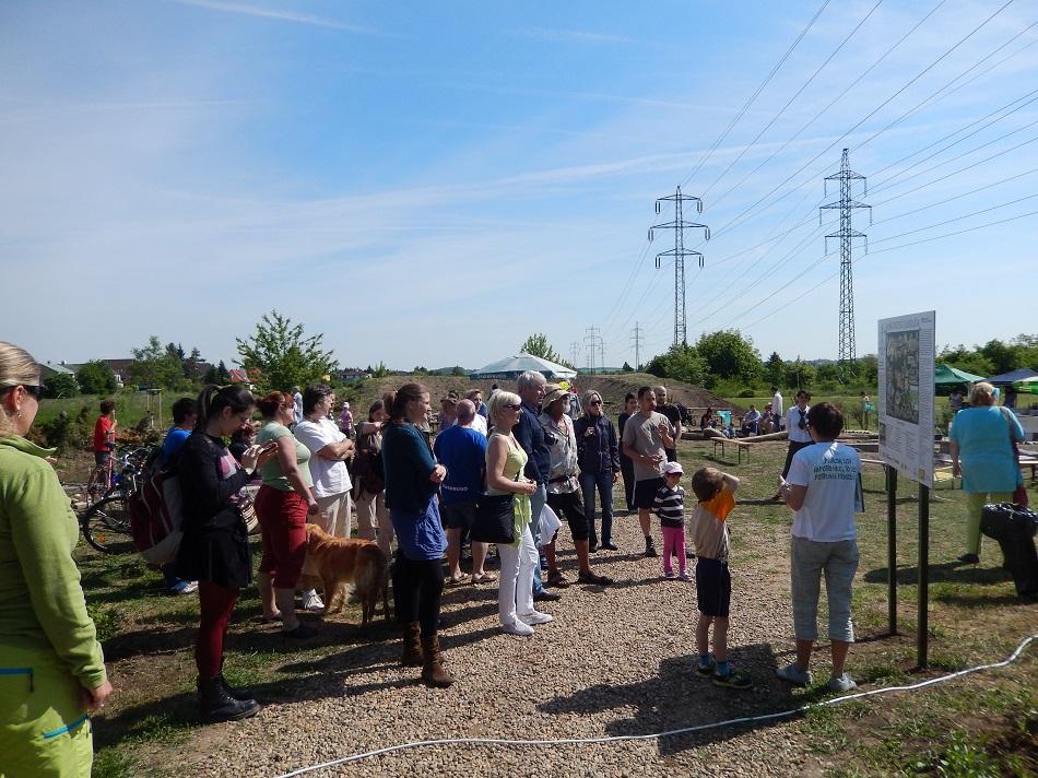Otevření Komunitní zahrady, sobota 16.5. 2015