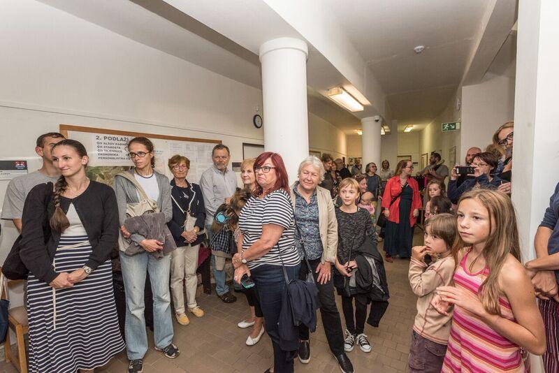 Vernisáž výstavy ŠPERKCYKLACE, po 4. září 2017