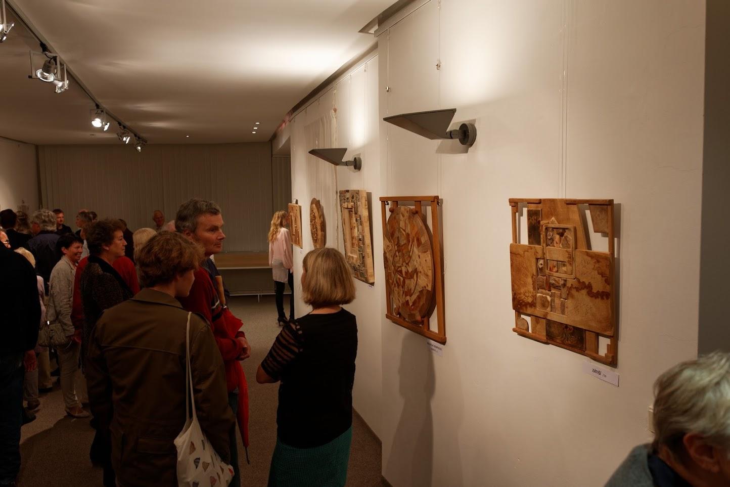 prohlídka výstavy Martin Patřičný - Díky dřevu