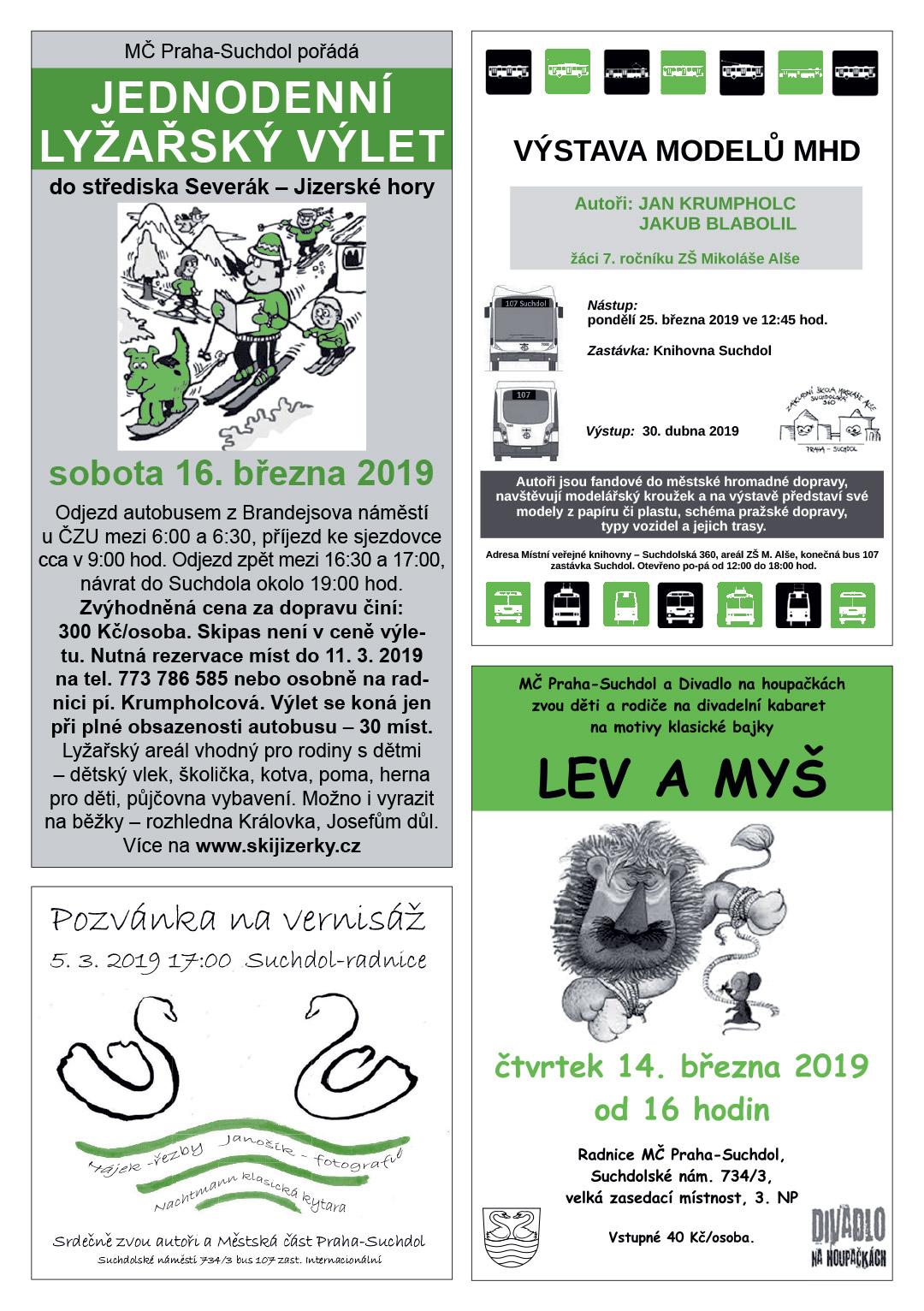 Suchdolská mozaika - březen 2019/01