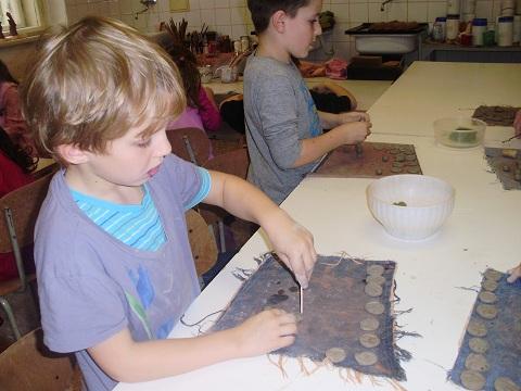 výroba svatomartinovských dukátů