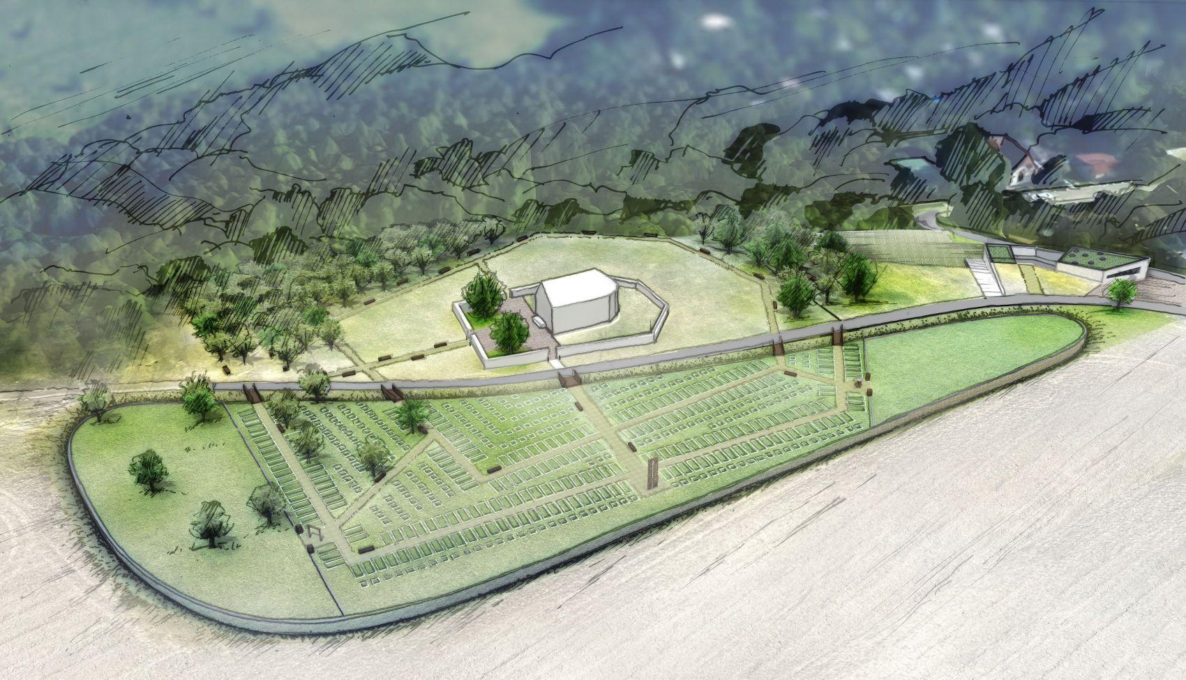 hřbitov-návrh 8 nadhled