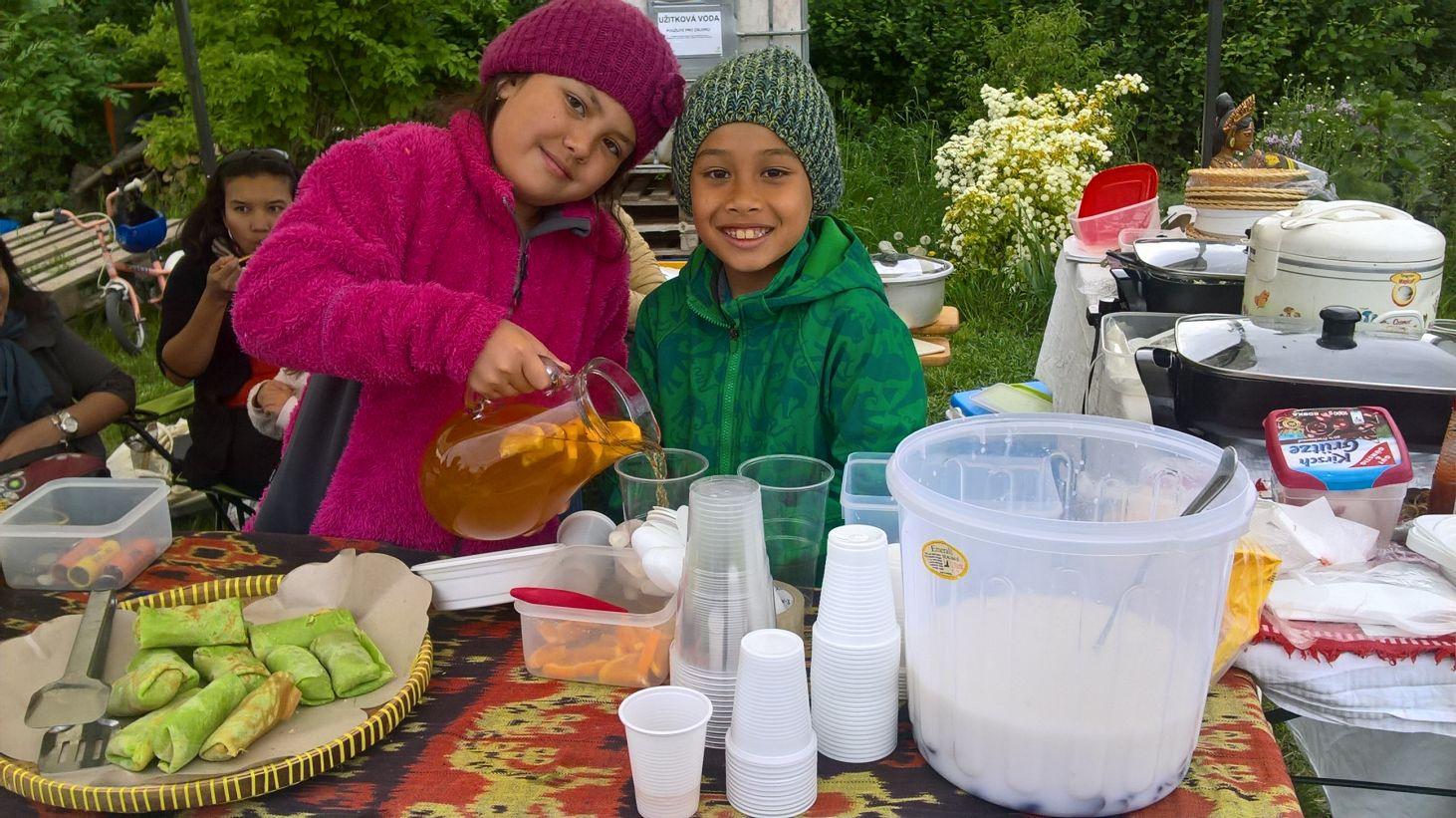 Restaurant Day a Bleší trh, Komunitní zahrada