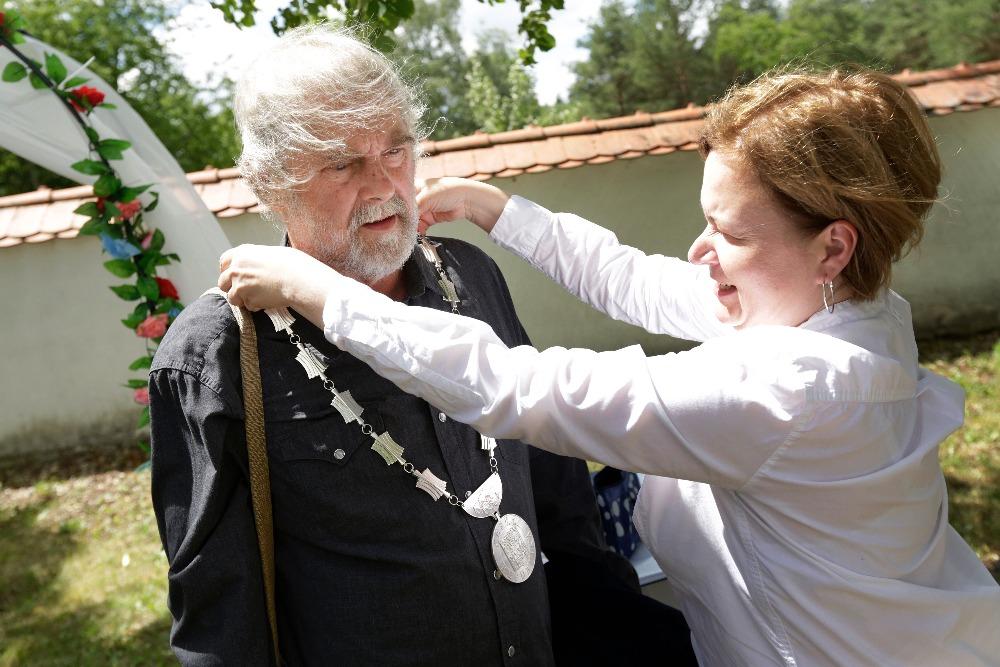 Petr Šabach, svatba Miketovi, foto Miroslav Kučera