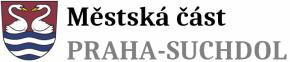 logo Městská část Praha-Suchdol se znakem