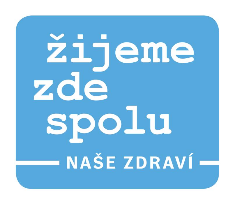 logo naše zdraví - modré